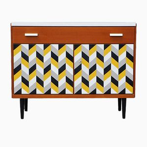 Sideboard with Patterned Front, 1960s