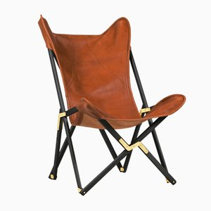 Brown Telami Tripolina Leather Chair from Telami