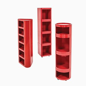 Valletto Stackable Storage Unit from Valenti, 1970s