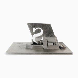Skulptur im modernen Stil von Yves Millecamps für Sollac, 1989