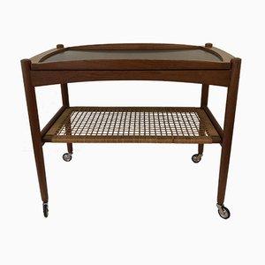 Vintage Scandinavian-Style Bar Cart