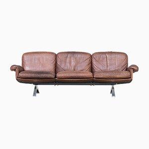 Vintage Cognac Leather DS31 3-Seater Sofa from de Sede