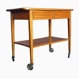 Cherry Bar Cart from Schildknecht, 1950s