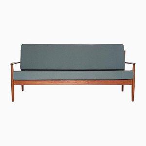 Model 118 Teak Sofa By Grete Jalk For France Søn 1950s