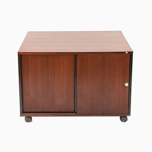 Rosewood Sideboard on Wheels by Ico & Luisa Parisi for MIM, 1960s