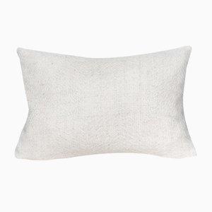 British Alpaca Herringbone Fern Cushion by Araminta Campbell