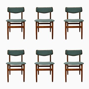Mid-Century Rosewood Chairs, 1960s, Set of 6