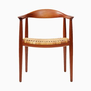 JH-501 Chair in Teak by Hans J. Wegner for Johannes Hansen, 1949