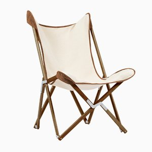 Bicolor Suede Telami Tripolina Chair from Telami