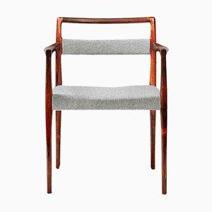 Rosewood Armchair by Kai Kristiansen for O.D. Møbler, 1960s