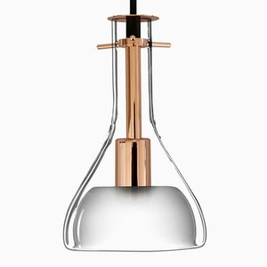 Wolkje S Rose Gold Ceiling Lamp by Fällander Glas for Akaru