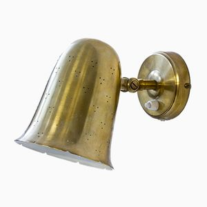 Bell Shaped Brass Wall Lamps by Boréns, 1960s, Set of 2