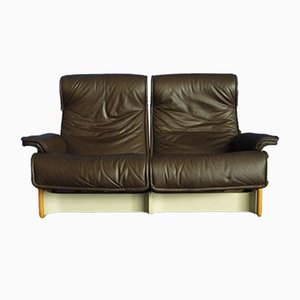 Follow Me Leather Sofa by Otto Zapf for Knoll International, 1970s