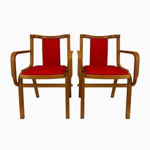 Scandinavian Armchairs, 1960s, Set of 2