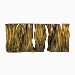 Monochrome Gold Konsole von Covet House