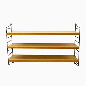 Swedish Ash Wall Unit System by Nisse Strinning for String, 1950s