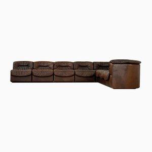Modular Leather Sofa from de Sede, 1970s