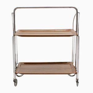 Mid-Century Modern Foldable Serving Trolley, 1960s