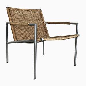 Vintage Dutch Model SZ01 Armchair by Martin Visser for 't Spectrum, 1960s