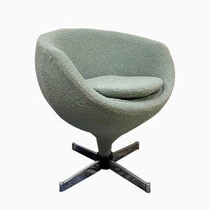 Vintage Luna Swivel Lounge Chair by Pierre Guariche for Meurop