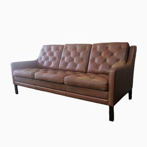 Mid-Century Leather Sofa, 1970s