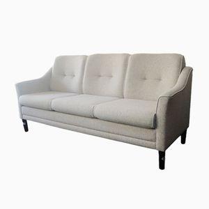 Danish Wool 3-Seater Sofa, 1970s