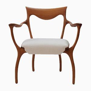 Model Hypnos Chair by Roberto Lazzeroni for Ceccotti, 1990s