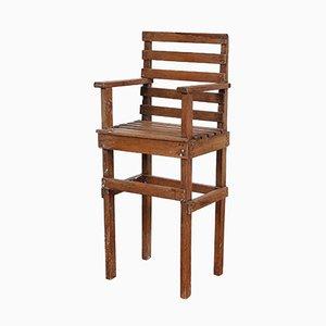 Chaise pour Enfant Moderniste, Pays-Bas, 1950s