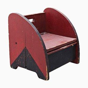 Chaise pour Enfant Vintage, Pays-Bas, 1930s