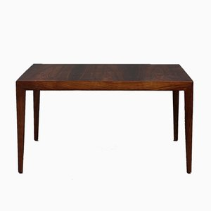 Large Rio Palisander Coffee Table by Severin Hansen for Haslev Møbelsnedkeri, 1960s