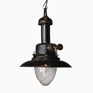 Antique Model 400BP Gas Pendant Lamp from Providus