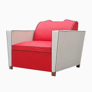 Molskin Schlaf Sessel, 1950er