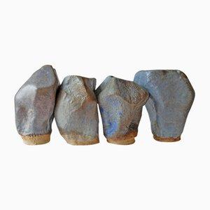 Stones of Venice Sculptures by AnnaLeaClelia Tunesi, 2018, Set of 4