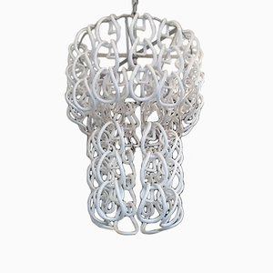 Horshoe Ring Chandelier by Angelo Mangiarotti for Vistosi