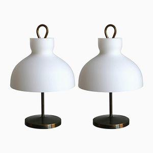Arenzano Tischlampen von Ignazio Gardella, 2er Set