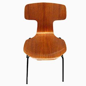 Teak Stuhl Modell 3103 von Arne Jacobsen für Fritz Hansen, 1970er