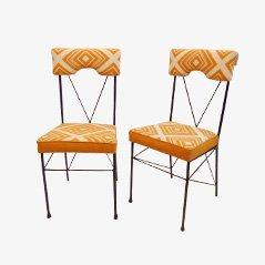 Italienische Vintage Esszimmerstühle, 2er Set