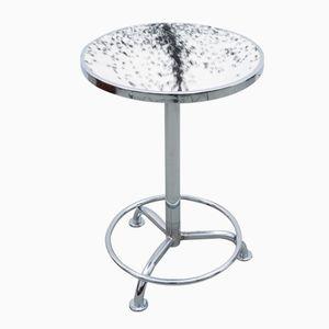 Art Deco Cowskin Side Table