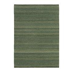 Gamba Olive Wool Rug by Jan Kath Design