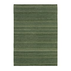 Gamba Olivfarbener Woll Teppich Jan Kath Design
