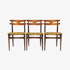 Model 178 Dining Chairs by Johannes Andersen for Bramin