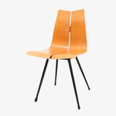 Midcentury Plywood GA Chair by Hans Bellmann