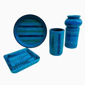 Keramik Set von Aldo Londi für Bitossi, 1960er