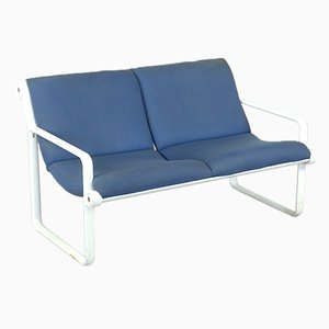 Model 2011 Couch von Bruce R. Hannah & Andrew Ivar Morrison für Knoll, 1975