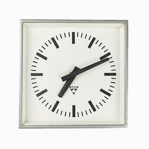 Horloge Murale Carrée par Pragotron