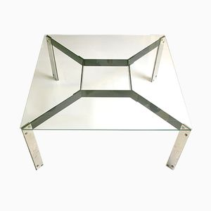 Mid Century Glass Table by Miquel Mila for Gres, 1962
