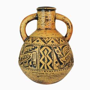 Midcentury Aztec Vase from Jasba Keramik