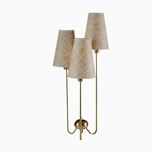 Swedish Brass Table Lamp by ASEA