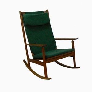 Mid Century Rocking Chair by Hans Olsen for Juul Kristensen, 1963