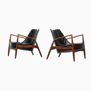 Sälen Seal Chairs by Ib Kofod-Larsen for OPE, Set of 2